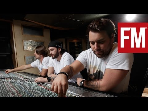 Swedish House Mafia In The Studio With Future Music