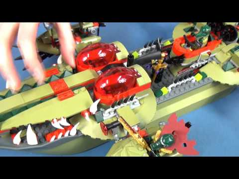Cragger Command Ship / Krokodyla Łódź Kragera - 70006 - Lego Chima - www.MegaDyskont.pl