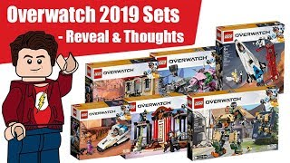 LEGO Overwatch Sets Official Pictures & Thoughts!