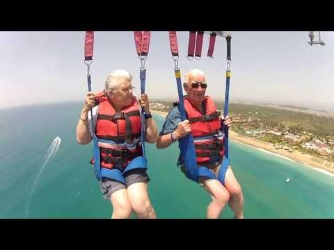 Parasailing in Turkey - Side/ Titreyengöl 2013