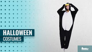 Kigurumi Men Halloween Costumes [2018]: Men's Women Pajama Costume Jumpsuit Plush Jumpsuit Animal