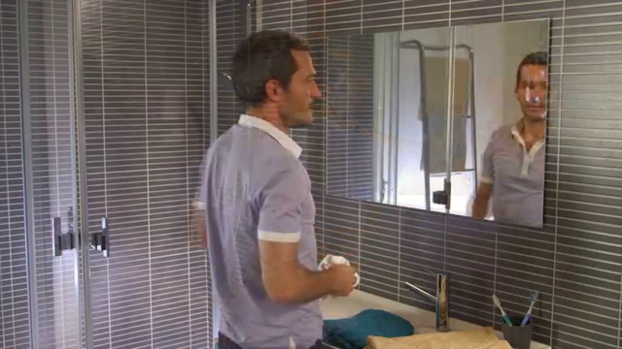 C mo instalar un espejo youtube - Como poner un espejo en la pared ...