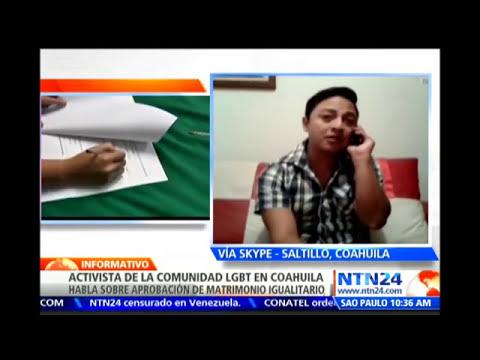 Coahuila se convierte en el segundo estado mexicano en permitir los matrimonios gays