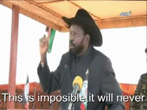 President Salva Kiir. WE WILL DEFEAT THEM.Omar Hassan Albasir is a dying horse!!