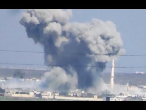 Amateur video purports to show Russian airstrikes in Syria despite truce