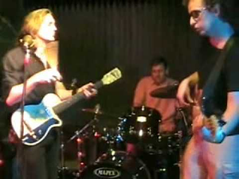DRU LORE BAND ~ Shake Your Money Maker (Elmore James) w/ drumstick slide guitar solo