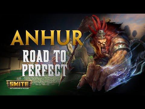 SMITE! Anhur, Los ADC ahora meten mucho mas ;)! Road To Perfect S5 #3