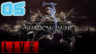 🔴 Let's Play some Chapters!!! | Shadow of War | Nemesis Mode | Live Playthrough #5 | 1080p 60fps