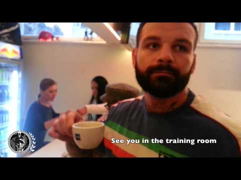 Alessio Sakara: Training in Austria - Weight training