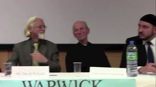 PUBLIC DEBATE: Does Morality Require a God? Copson & Pollock VS Andalusi & Wansbrough