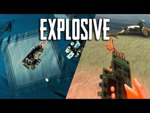 Как сделать взрывчатку в forest 919