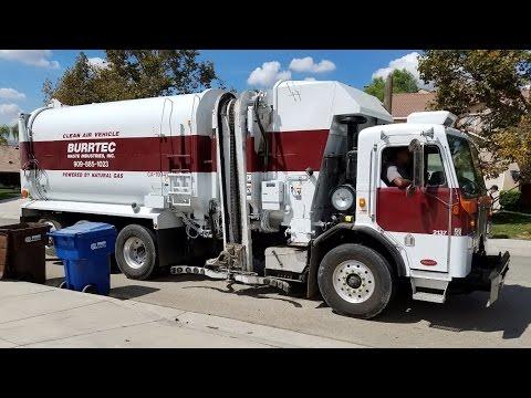 Burrtec Garbage Trucks of the San Bernardino Area
