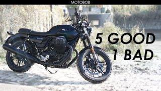 Moto Guzzi V7 III Stone Test Ride & Review