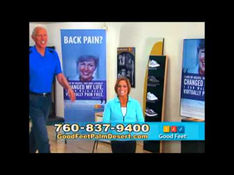 Good Feet Palm Desert Mary Lou Retton Foot pain back heel pain relief arch supports fasciitis