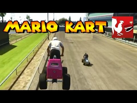Things to do in GTA V - Mario Kart