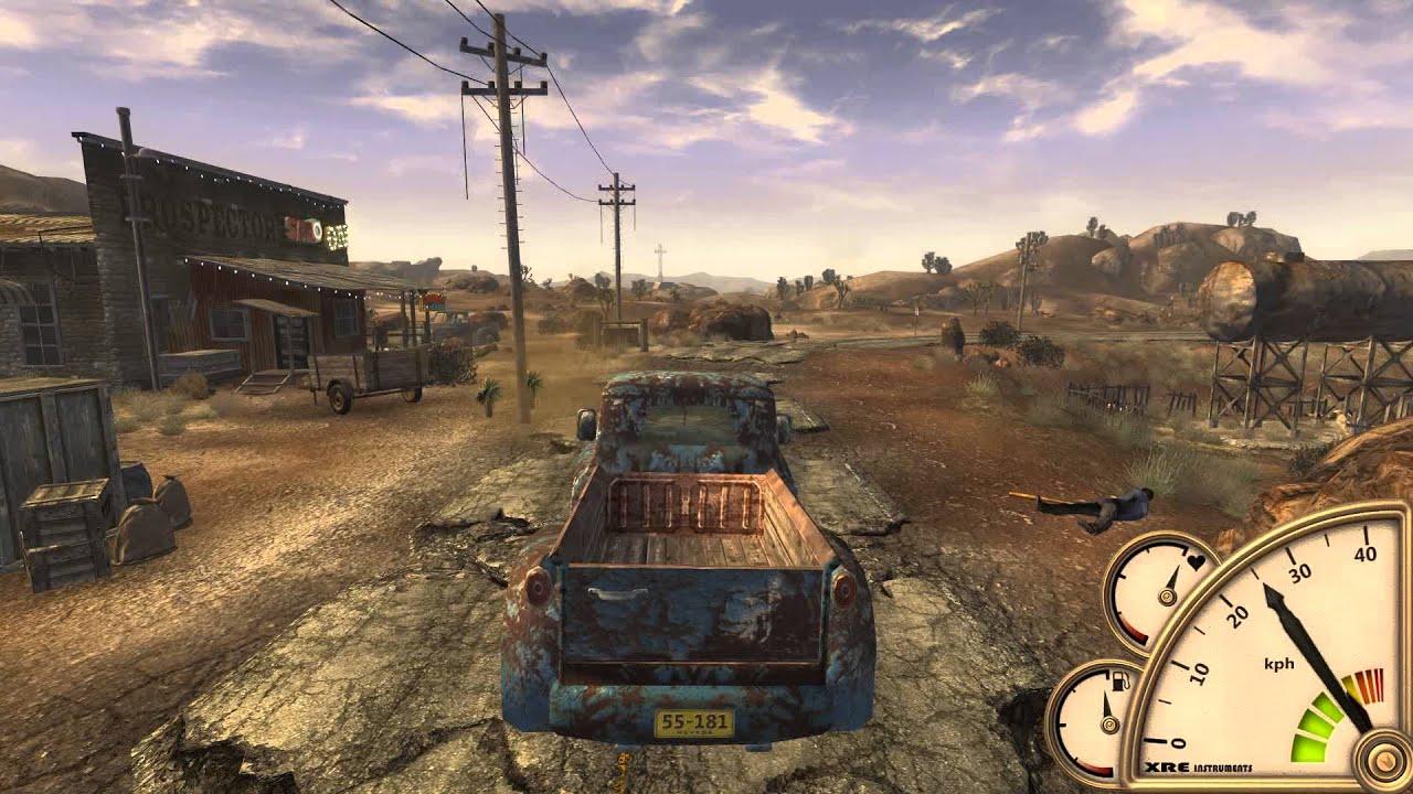 Fallout New Vegas Cars Fallout New Vegas Xre Car