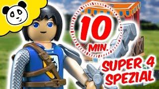 ⭕ PLAYMOBIL SUPER 4 🚨 Abenteuer der SUPER 4 SPECIAL 🚓 Pandido TV