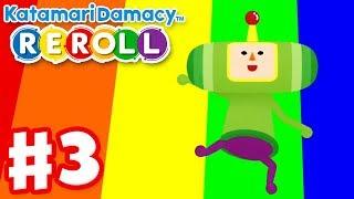 Katamari Damacy Reroll - Gameplay Walkthrough Part 3 - Twins and Bears! (Nintendo Switch)
