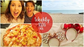 Weekly Vlog #26 | Disney Prep and Beach Visit