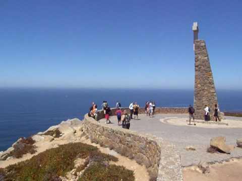 Cabo da Roca, donde la tierra se acaba y el mar comienza. Portugal (julio 2009)
