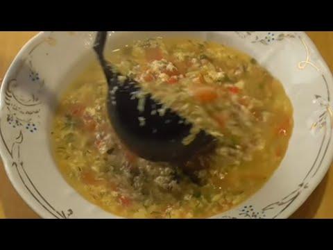 Яичный суп рецепт приготовления | Лысый Повар