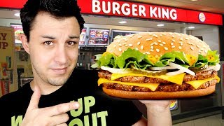 DEGUSTATION BURGER KING ! Big King XXL !