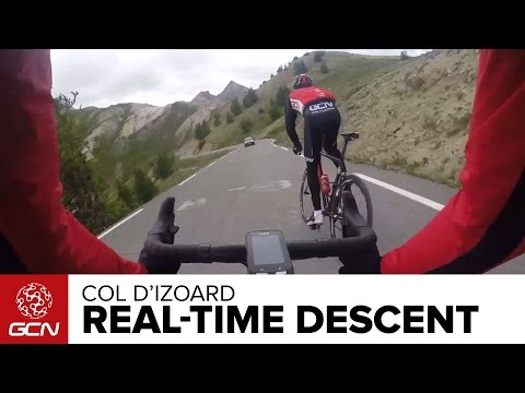 Col D'Izoard Real Time Descent | Tour De France 2014