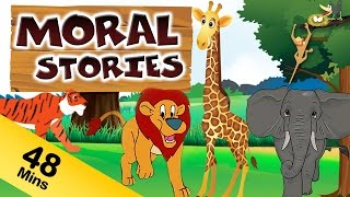 Moral Stories For Kids in English | Panchatantra Stories Collection | Animal & Jungle Stories