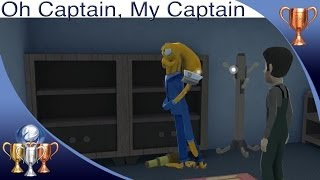 Octodad: Dadliest Catch [PS4] - Oh Captain, My Captain - Trophy Guide (Visit Crew as the Captain)