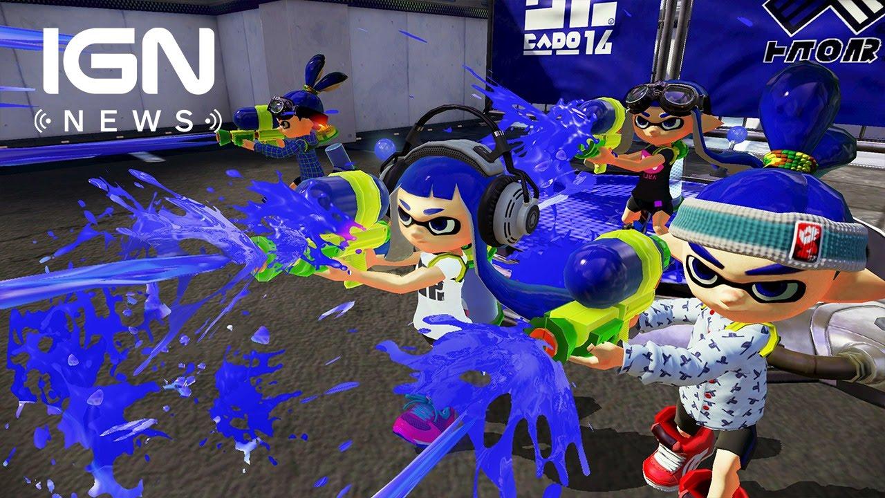 Wii U Sales Pass 10 Million, Splatoon Hits 1.62 Million - IGN News