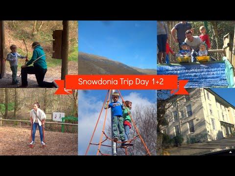 Snowdonia Mountain & Coast Trip Day 1 + 2