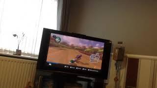 Mario kart 8 Deluxe online highlight TWD98 best moment Mario kart 3
