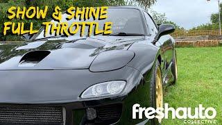 FULL THROTTLE // LAST SHOW// CAR FACTS