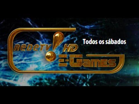 E-Games • Primeiro Programa Completo - Rede tv