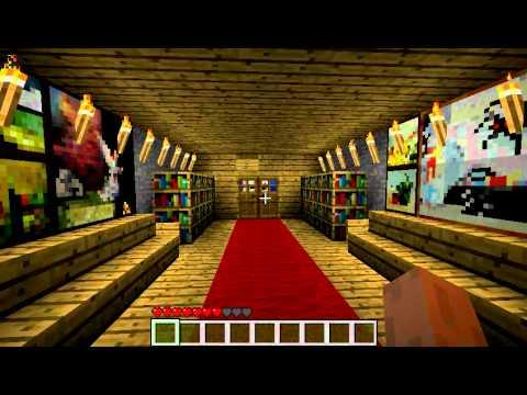 Minecraft Secret Base And Trap