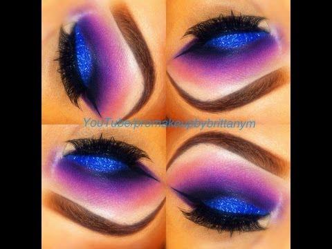 Purple eye makeup ideas