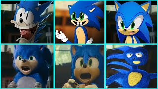 Sonic The Hedgehog Movie - Uh Meow All Designs Compilation