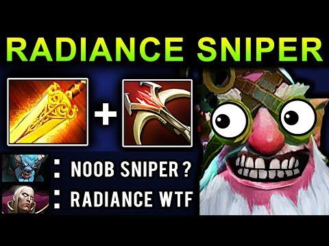 RADIANCE SNIPER - DOTA 2 NEW META GAMEPLAY #3