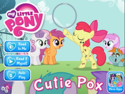 My Little Pony: Cutie Pox Part 1 - iPad app demo for kids - Ellie