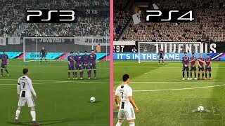 FIFA 19 | Ps3 vs Ps4 Graphics & Gameplay Comparison
