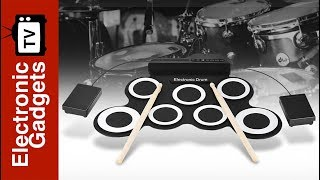 Foldable Silicone Drum - Great Music Gadget For Kids