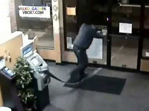 How to rob an ATM very fast!!! :D