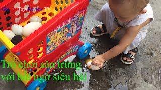Trò chơi săn trứng cho bé * GhiGhi ToysReview TV * Đồ chơi trẻ em mầm non