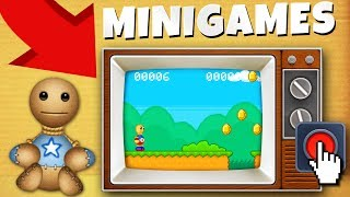 Kick the BUDDY UNLOCKING ALL MINIGAMES!