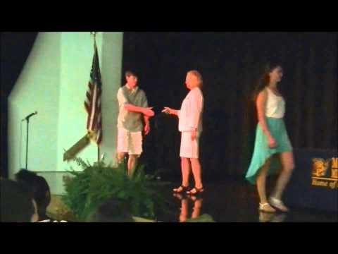 McCleskey Middle School Awards Vince Wilkinson 05/23/2013