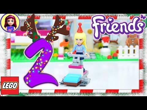 Day 2 Lego Friends Advent Calendar 2017 Build Silly Play