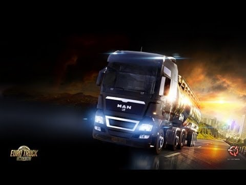Gameplay Comentado Euro Truck Simulator 2 HD Max Setings