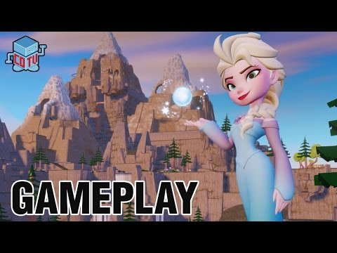 Disney Infinity Frozen ELSA Gameplay Commentary
