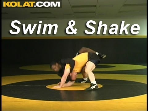 Tripod Swim Shake, Power Half Counter KOLAT.COM Wrestling Techniques Moves Instruction Image 1
