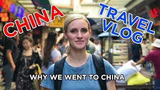 WHY WE WENT TO CHINA! (Ellie and Jared Travel Vlog #1)